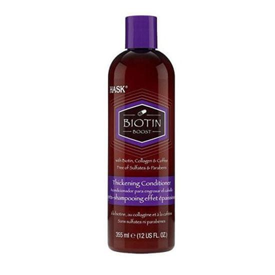 Hask Kondicionér pro husté vlasy-biotin,kolagen & káva 355 ml