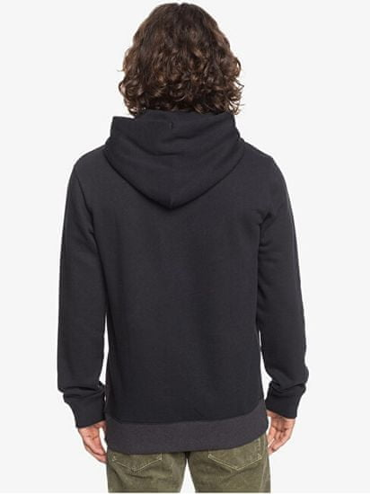 Quiksilver Moška pulover Emboss Bloc za Hood tj. EQYFT04188 -KVJ0