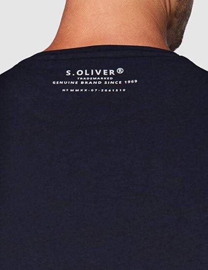 s.Oliver Férfi póló 13.007.32.5618.58W0