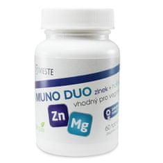 Vieste group Imuno Duo zinok + horčík 60 tablet