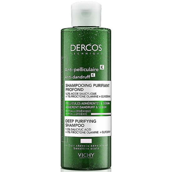 Vichy Šampón proti lupinám s peelingovým efektom Dercos K (Deep Purifying Shampoo)