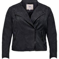 Only Carmakoma Női kabát CARAVANA 15161651 Black (Méret 4XL)