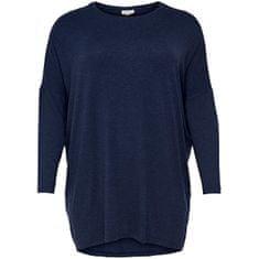Only Carmakoma Ženska majica CARCARMA 15193626 Peacoat (Velikost 5XL/6XL)