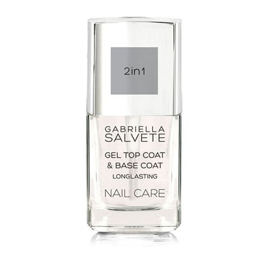 Gabriella Salvete Gelový vrchní lak na nehty GEel 2in1 Top and Base Coat