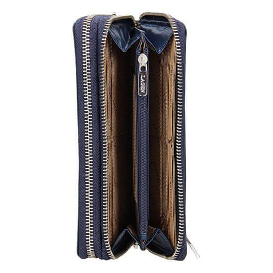 Lagen 50386 Dark Blue női bőr pénztárca