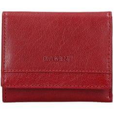 Lagen BLC-160231Red/Blk női bőr pénztárca