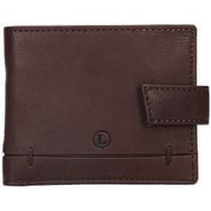 Lagen Pánská kožená peněženka BLC/4139 BRN