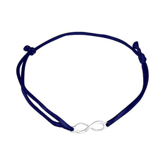 Praqia Zsinór kék Kabbala karkötő Végtelen KA6188