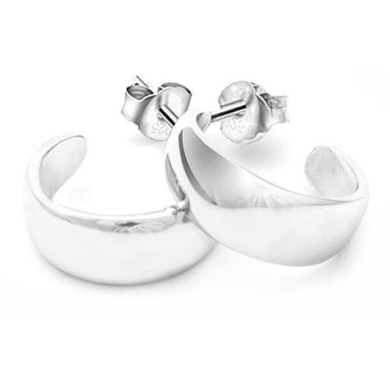 Beneto Lenyűgöző ezüst karika fülbevaló AGUP196