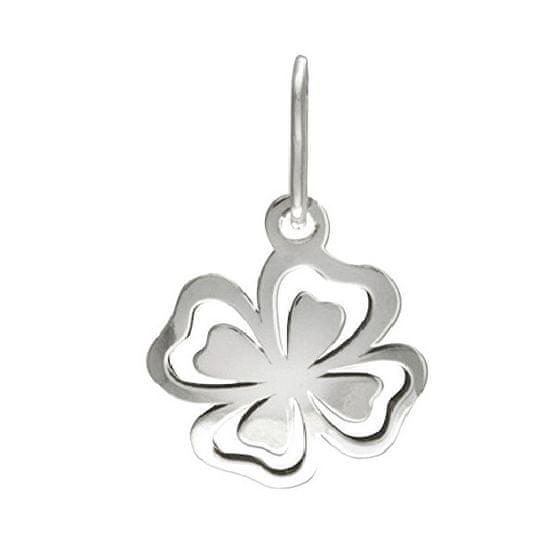 Praqia Ezüst négylevelű lóhere medál PA0622m ezüst 925/1000