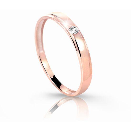 Cutie Jewellery Bájos gyűrű Z6707-1617-10-X-4 rózsaszín arany 585 /1000