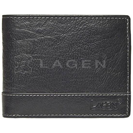Lagen Moška usnjena denarnica 1998/T Black