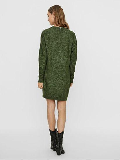 Vero Moda Ženska obleka VMBLAKELY IVA 10247924 Black Forest