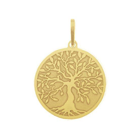 Praqia Arany medál Életfa PA6250 sárga arany 585/1000