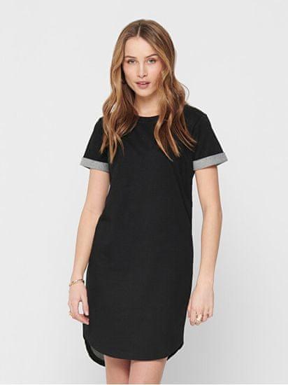 Jacqueline de Yong Dámské šaty JDYIVY LIFE 15174793 Black