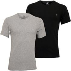Calvin Klein 2 PAKET - moška majica CK One NB2221A -BHY (Velikost S)