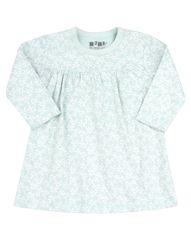 Nini dievčenské šaty z organickej bavlny ABN-2205 74 svetlozelená