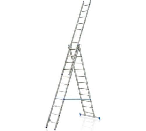 Elkop Hliníkový žebřík 3x12 profi
