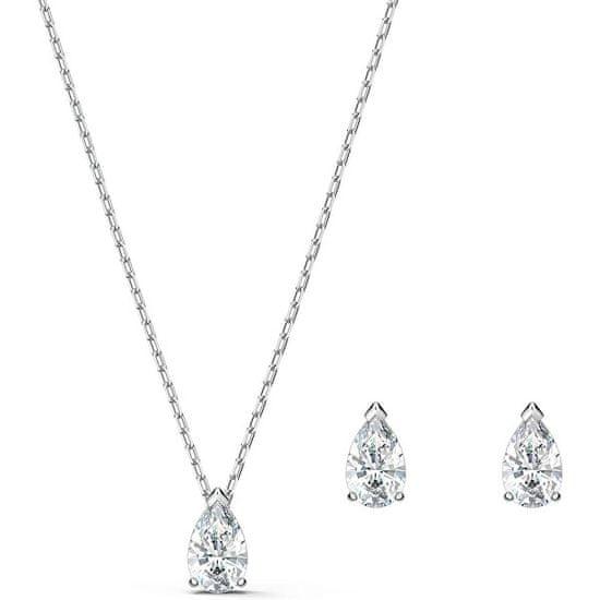 Swarovski Pekná sada šperkov s trblietavými kryštálmi Attract 5569174 (náušnice, náhrdelník)