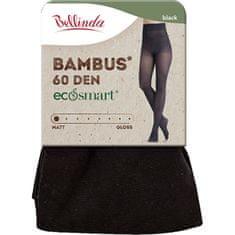 Bellinda Ženske hlačne nogavice Bambus 60 DEN Black BE262009-094 (Velikost S)