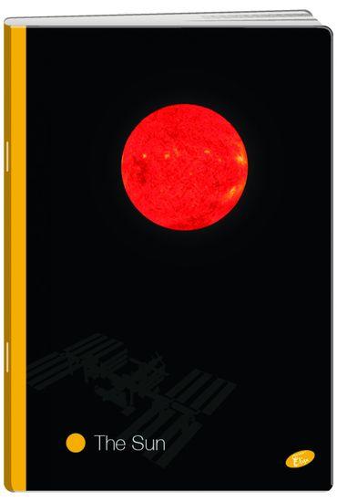Elisa zvezek Planeti, A4, brezčrten, 52-listni, 10/1