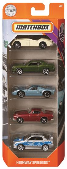 Matchbox avtomobilček, 5 kosov