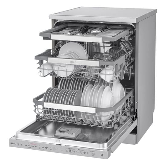 LG myčka nádobí DF425HSS + 10 let záruka na motor
