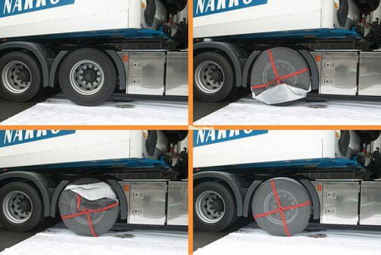 Autosock AL69 – textilní sněhové řetězy pro nákladní auta