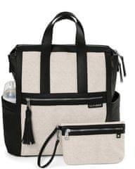Skip hop Pelenkázó táska / hátizsák Sutton Canvas/Natural