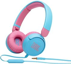 JBL JR310, modrá/růžová