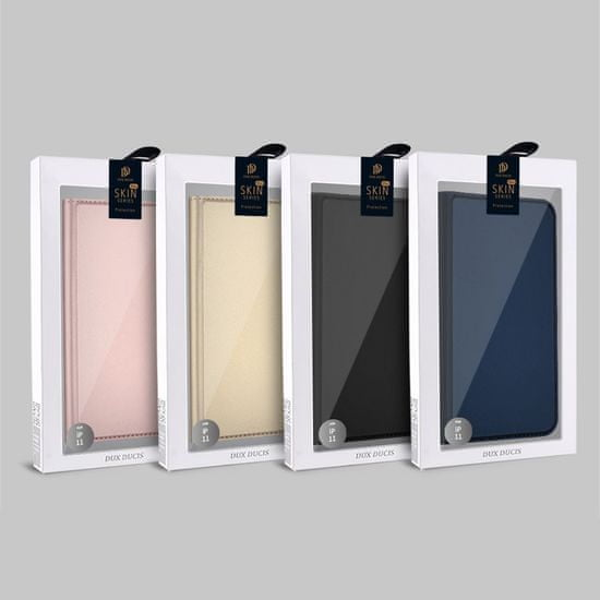 Dux Ducis Skin Pro knjižni usnjeni ovitek za iPhone 11 Pro Max, modro