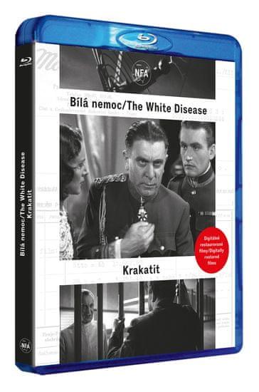 Bílá nemoc + Krakatit (DIGITÁLNĚ RESTAUROVANÝ FILM) - Blu-ray