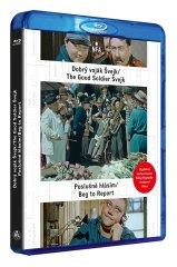 Dobrý voják Švejk + Poslušně hlásím (DIGITÁLNĚ RESTAUROVANÝ FILM) - Blu-ray