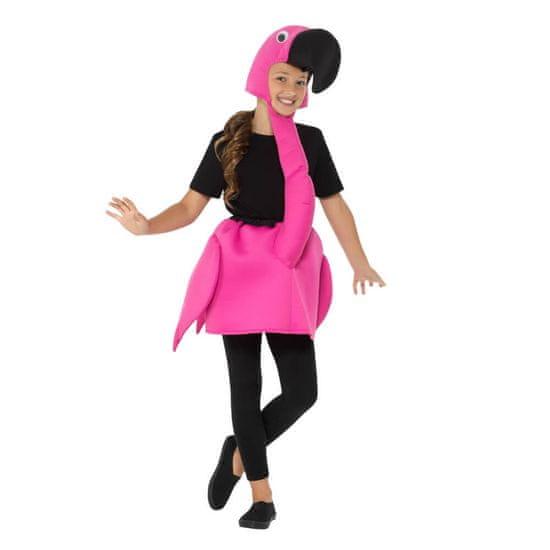 Moja zabava Otroški kostum Flamingo