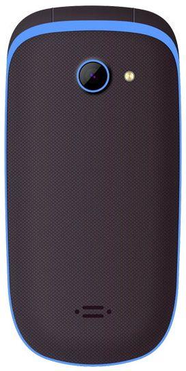 MaxCom preklopni mobilni telefon MM818, črn