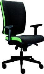 Alba Kancelářská židle LARA VIP šedá/zelená