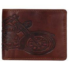 Lagen Férfi bőr pénztárca 6535 Brown