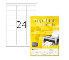 Herma Top Stick 8777 etikete, 64 x 34 mm, bele, 100/1