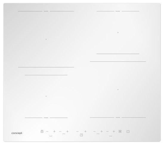 CONCEPT płyta indukcyjna IDV4260wh