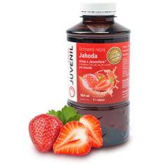 Juvenil ochranný nápoj Juvenil, celková imunita, sirup jahoda