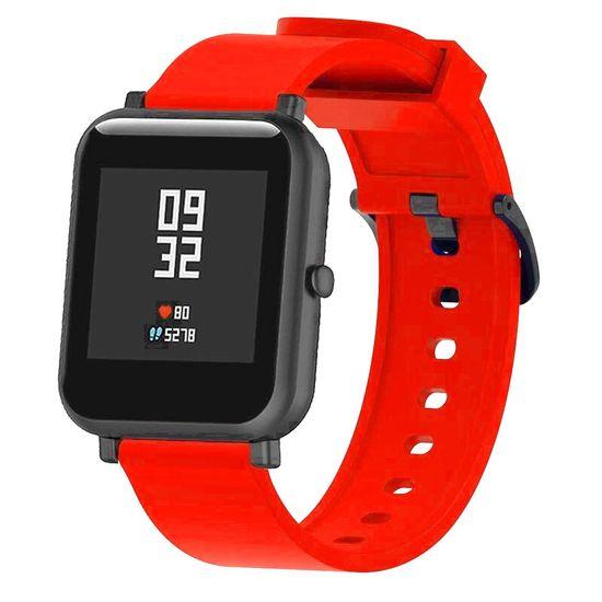 BStrap Xiaomi Amazfit GTS Silicone szíj, Red