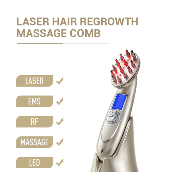 Beauty Biowave Laserový prístroj na rast vlasov a zlepšenie kvality vlasov