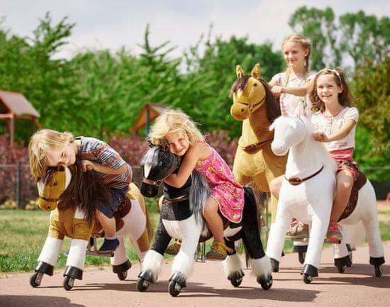Ponnie Jeżdżący mechaniczny koń Happy M