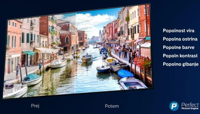 Philips Engine Philips P5, Ultra HD 4K, detalji, kontrast, boje, kretanje