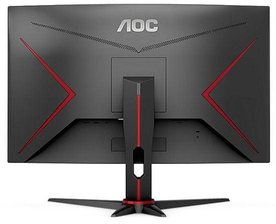 AOC C24G2AE gaming monitor, 59,9 cm (23,6), FHD, VA, 165 Hz, ukrivljen (C24G2AE/BK)