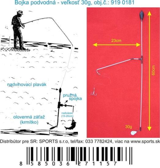 Sports Bójka podvodná 30g/60cm/23cm