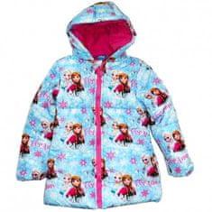 "Eplusm Dekliška zimska jakna ""Frozen"" - roza - 104 / 3–4 leta"