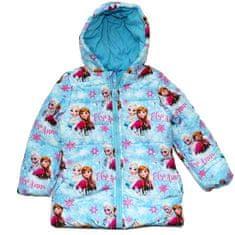 "Eplusm Dekliška zimska jakna ""Frozen"" - modra - 104 / 3–4 leta"