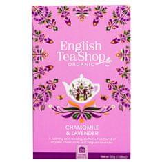 English Tea Shop Harmanček a levanduľa BIO 20 vrecúšok