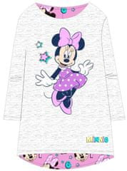 "Eplusm Otroška obleka ""Minnie Mouse"" - siva - 122 / 6–7 let"